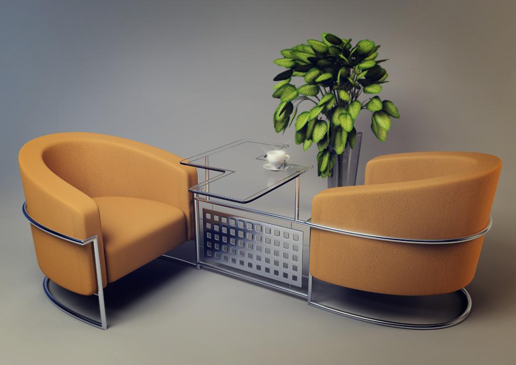 Doppel Sessel Cheap Rattanset Tlg Sitzecke Mit Tisch Mit Sessel Und